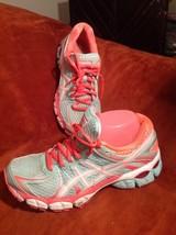Asics Gel Flux Women's 8M Running Athletic Sneakers Tennis Shoes T3D9N - $21.03