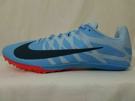 Nike Zoom Rival S Sprint Shoes 10-11 Men's Track & Field Light Blue 907564-446 - $21.99