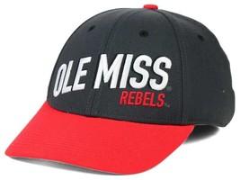NWT New Ole Miss Rebels Nike Dri-Fit NCAA Best L91 Flex-Fit Hat - $27.67