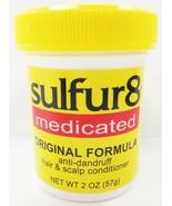 SULFUR 8 MEDICATED ORIGINAL FORMULA ANTI DANDRUFF HAIR & SCALP CONDITION... - $4.45