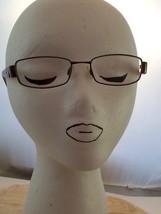 Elle Color BR 18780 49+17-130mm Brown Eyeglasses, Pre-Owned - $12.19