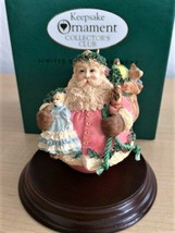 1994 Limited Edition Hallmark Keepsake Collector's Club Jolly Holly Santa  - $9.41