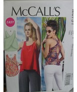Sewing Pattern Misses Tropical Summer Top sizes XSM-Med Uncut - $4.99