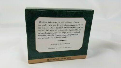 Hallmark Keepsake Ornament Set of 3 Star Wars Max Rebo Band 1999 image 9