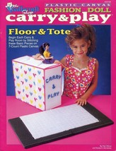 Floor & Tote Carry & Play for Barbie Plastic Canvas PATTERN/INSTRUCTION - $8.07