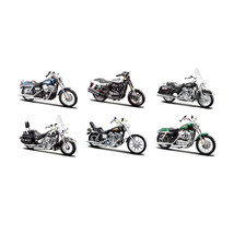 Harley Davidson Motorcycle 6pc Set Series 32 1/18 Diecast Models by Mais... - $61.66