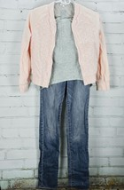 ABERCROMBIE / GAP KIDS /SPLENDID Girls Bomber Jacket Top Jeans Outfit Set Sz 12 image 1
