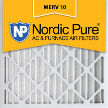 Nordic Pure 18x18x2 Pleated MERV 10 Air Filters 3 Pack - $29.48