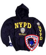 NYPD Shirt Hoodie Sweatshirt Crewneck Badge Gear Merchandise Womens Mens... - $34.99