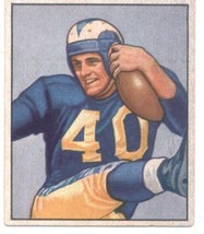 1950 Bowman #52 Elroy Hirsch LA Rams EX Excellent (RC - Rookie Card)  - $112.50