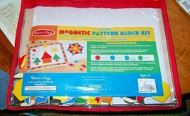 Melissa And Doug Wooden Magnetic Pattern Block Kit  - $11.30