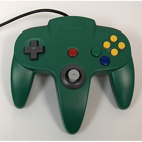 Nintendo N64 Green Replacement Controller By Mars Devices