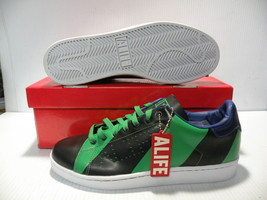 ALIFE COURT CUP-RGB TRAINERS SPORTS SNEAKERS MEN SHOES GREEN/BLACK SIZE ... - $79.19