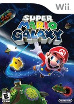 Super Mario Galaxy (Nintendo Wii, 2007)100% SATISFACTION GAURANTEED. FRE... - $12.99