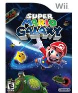 Super Mario Galaxy (Nintendo Wii, 2007)100% SATISFACTION GAURANTEED. FRE... - $12.99