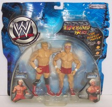 "NEW! '02 Jakk's Unchained Fury ""Billy"" & ""Chuck"" Action Figure Set WWE [... - $29.69"