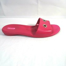 Okabashi Slides Sandals Woman Size M/L Hot Pink Slip-on Rubber - $14.84