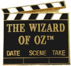Wizard Of OZ Movie Clapboard Pin Entertainment Collector Movie Memorabil... - $7.29