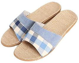 Male Slippers Summer M flax Slippers Non-slip Floor Sandals Slippers
