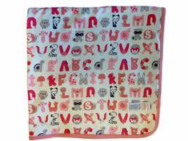 Gymboree G is for Giggly Giraffe Alphabet Animals Soft Cotton Pink Baby ... - $39.59