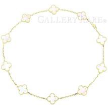 Van Cleef & Arpels Vintage Alhmabra Necklace K18YG Pearl VCARA42800 4139263 - $6,953.71