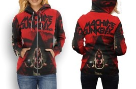 hoodie women zipper machine gun keys MGK - $48.99+