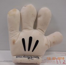 "Walt Disney World Exclusive Mickey Mouse Souvenir Hand 8"" plush toy RARE HTF - $23.38"