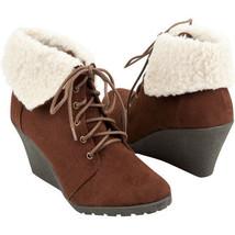Soda Denton Brown Womens Boots Size 7 BNIB - $30.24