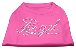 Angel Rhinestud Shirt Bright Pink XXL (18) - $12.98