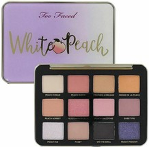 Too Faced White Peach Multi-Dimensional eye shadow Palette - $30.00