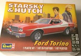 Revell Starsky & Hutch Ford Torino Model Plastic Car Kit 1/25 Scale Seal... - $41.68