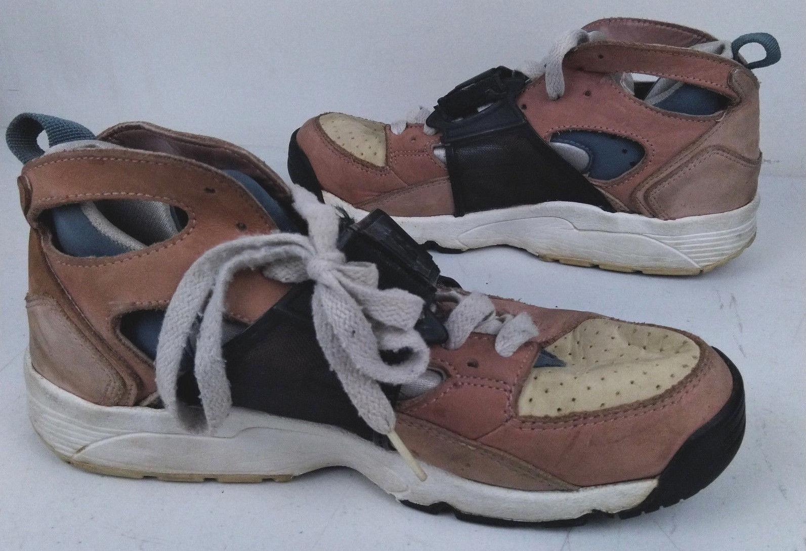 3da1388079c5 Vtg 2003 Nike Air Huarache LE Escape Bisque   Storm Gray US Sz 6.5 305958-