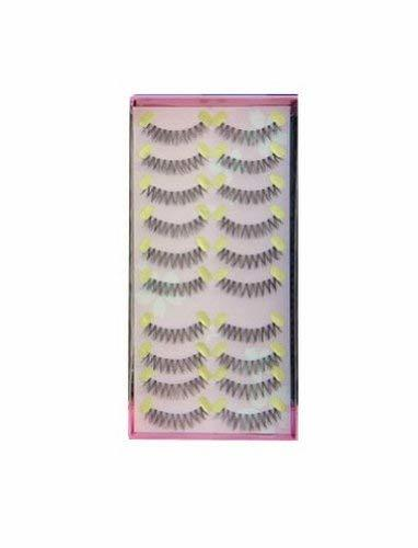 Precision Make Up Fake Eyelashes Cross Type Fake Eyelashes 10 Pairs