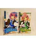 Shugo Chara Manga Graphic Novels Comic Books Volumes 2 3 English Lot - $19.78