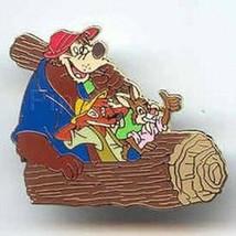 Splash Mountain Ride Pin   Brer Bear Brer Fox Brer Rabbit Authentic  Disney - $150.00