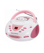 Hello Kitty Stereo CD Boombox with AM/FM Radio - $59.97