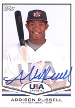 2011 Topps USA Baseball Autographs #USA-A63 Addison Russell NM-MT - $40.00