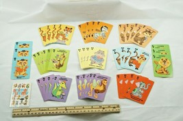 Vintage Whitman Co #4493 Animal Rummy Card Game Incomplete With Box Printed USA - $7.38
