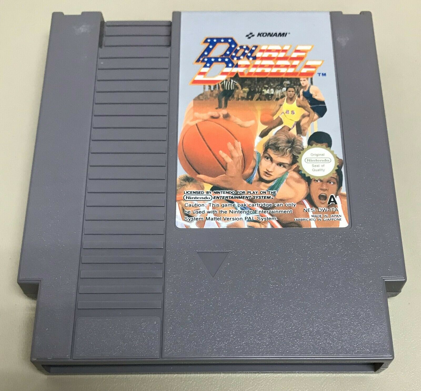 Blades of Steel, Top Gun, Double Dribble 3 NES Konami Game Lot Nintendo image 8