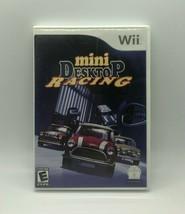 Nintendo Wii Mini Desktop Racing Complete w/ Manual Included - $7.98