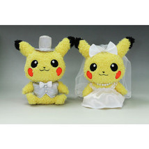 Pokemon Pikachu Wedding soft plush doll New from Japan - $140.00