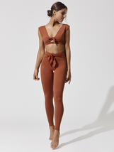 Women Ursa Legging in Terracotta, Free People Movement image 3