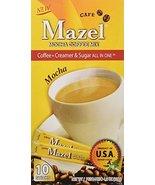 Mazel Café Mocha Coffee Mix Singles (10 Packets each) FOUR BOXES - $47.51