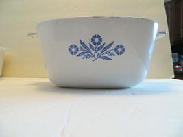 VINTAGE Corning Ware 1960-61 Blue Cornflower 1 3/4 Qt. Casserole Dish (#A) - $21.99