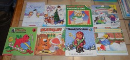 lot of 10 Christmas Themed Books Clifford heathcliff Night before Christmas - $23.38
