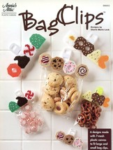 Bag Clips 6 Designs Plastic Canvas PATTERN/INSTRUCTIONS Fits Large & Sma... - $3.57