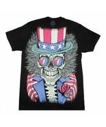Grateful Dead Subway Patriotic Skelly T-Shirt Men's Officially Licensed ... - $23.00
