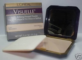 L'oreal Visuelle Softly Refining Pressed Powder Transparence Deep .4 Oz / 11.3 g - $16.65
