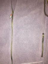 EDDIE BAUER Mens Gray Full Zip Fleece Two Pocket Vest Size 2XL HOODLESS image 4
