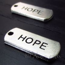 10 Pcs Hope Wholesale Inspirational Message Charm Pendants - $9.90